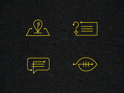 Road Construction Project Icons