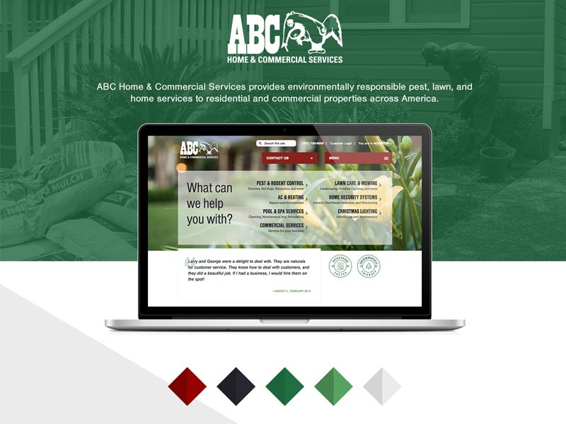 Abc Web Redesign By Monkee Boy On Dribbble