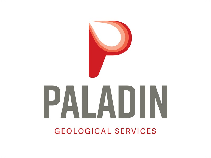 Paladin Geological Services icon vector energy design oklahoma brand agency branding and identity logo design branding