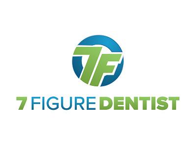 7 Figure Dentist Logo branding logo 7 dental