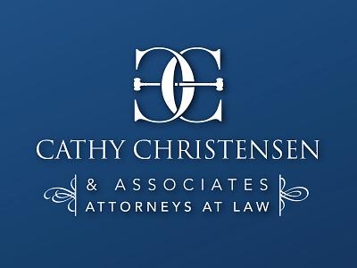 Cathy Christenson Law Logo law logo attorney logo