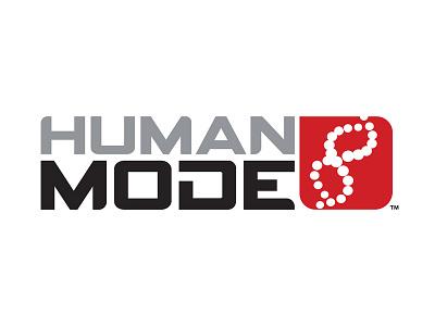 Human Mode Logo oklahoma identity tech startup branding logo design