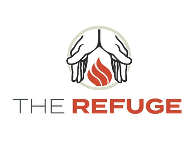 The Refuge Logo Development illustration branding logo ministry church oklahoma