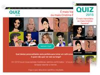 Quiz landing page
