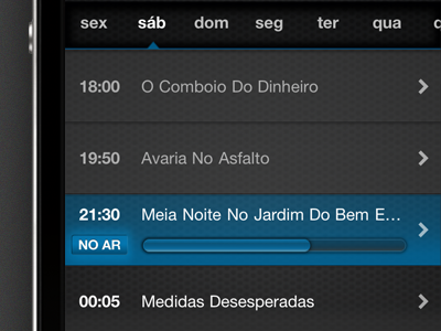Meo remote channel detail