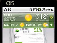 SAPO weather widget hdpi version