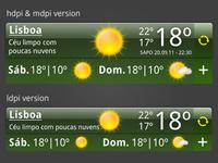 SAPO weather widget