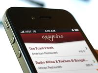 Easyvino app