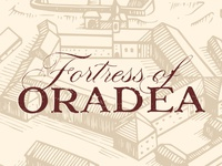 Fortress of Oradea - Wine label design
