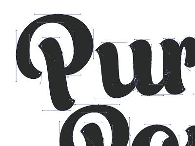 Purrfect Portal beziers purrfect portal portal cat door cats cat typography logotype logo design logo
