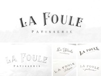 La Foule Patisserie sketches