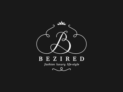 Bezired logo symbol crown wardrobe shop fashion luxury bezired fashion store boutique