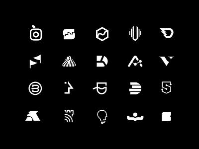 Logo Collection - 10 years logos logo collection logo design logo