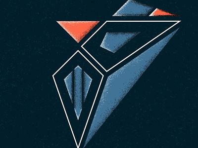 Fighter vector shadow face art design illustrator illustration