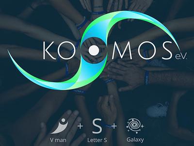 Kosmos.e.V art logotype logodesigner branding logodesign logo design