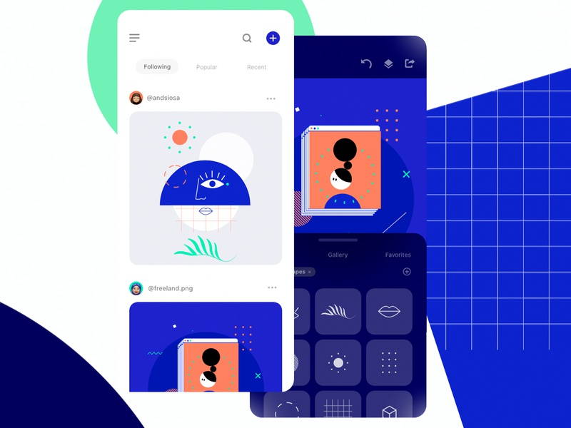 Storyteller - Adobe Live animation app animations user interface uxui illustrations adobe live app animation app design adobe illustrator adobe xd