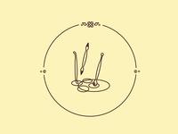 Gourmet bakery Illustration