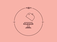 FLORAL CAKE STAND icon