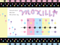 Lollipop Graphics assets: Brushes, patterns, vectors
