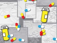 Scrips and Meds surface Design