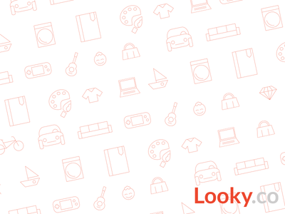 Icons for Looky ecommerce icons shopping web flyer ui