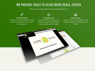 LiveHive Homepage Redesign graphic ui web design redesign homepage