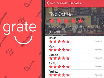 Dribbble ui mobile app logo