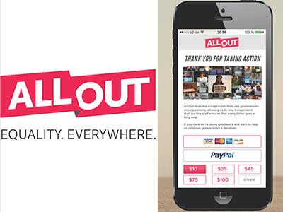 Exploration: AllOut Mobile  ui mobile app ux