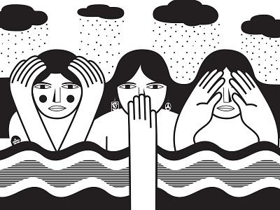 Fortoul Brothers - illustration vector illustrator magazine illustration
