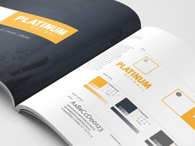 Platinum Drywall - Brand Guidelines