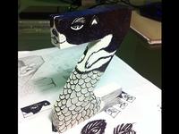 Custom letter blocks