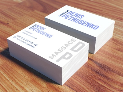 Business Card vector design branding logo