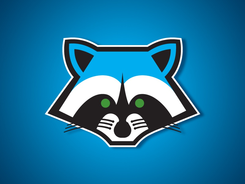 Boise Raccoons Primary Logo By Andrew Sterlachini Dribbble Dribbble