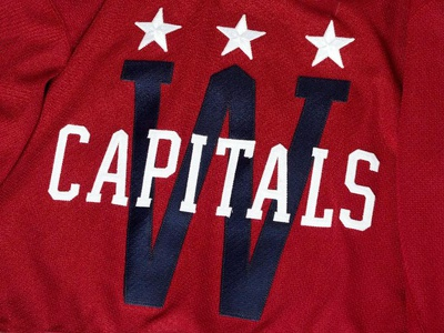 Washington Capitals Winter Classic 2015 Jersey Crest