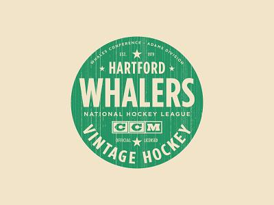 Varsity Club texture type logo vintage ccm apparel sports whalers hartford hockey nhl