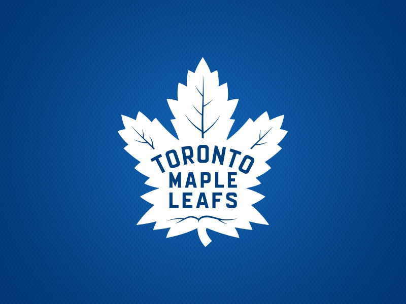 Toronto Maple Leafs Logo white blue leaf maple leafs design branding logo sports hockey toronto