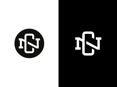 NC Monogram branding crest ligature circle type monogram logo