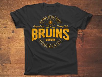 Skate Around ccm type vintage apparel bruins boston logo sports hockey nhl