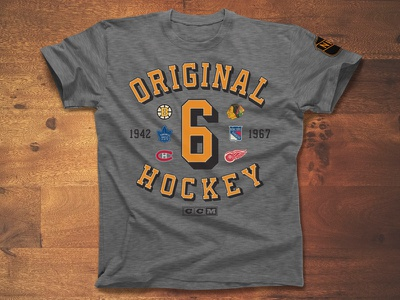 The Foundation new york toronto boston montreal chicago detroit original hockey nhl