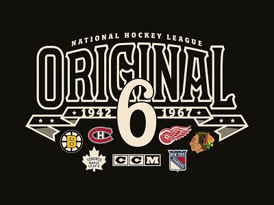 The Blueprint ccm logo new york chicago detroit montreal toronto boston nhl hockey