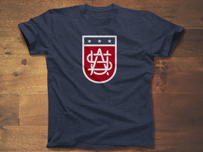 Usa shield full shirt dribbble