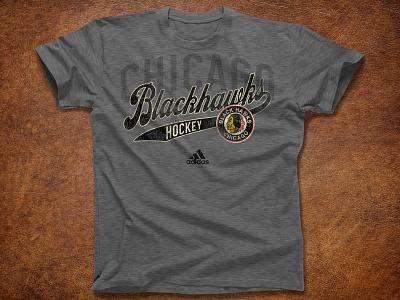 All Valley goalie goal sports adidas logo chicago nhl hockey