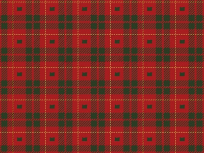 Oregon Plaid personal project pattern holidays state green red christmas christmas card plaid oregon