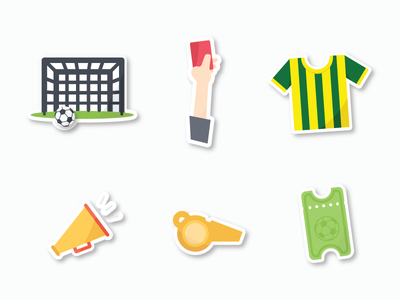 Soccer Stickers stickers sports game soccer football fifa