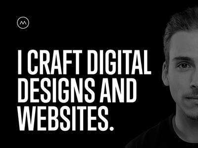 workdiary.de redesign website web redesign clean minimal glitch dark bright black and white profile personal portfolio
