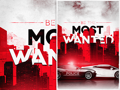 Most wanted texture poster car lamborghini camaro police city skyline clouds game need for speed vintage red vibrant