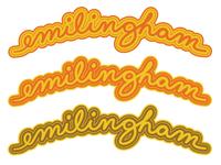 Emilingham Retired Cursive Logo