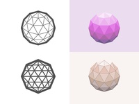 Geodesic dome fun geodesic dome dome geodesic illustration iconography icon logo
