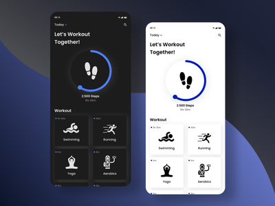 DailyUI 041 : Workout Tracker dailyuichallenge uidesign challenge web design apps mobile apps design app ui ux design design inspiration workout app workout daily ui dailyui
