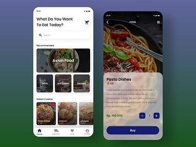 DailyUI 043 : Food/Drink Menu ui ux design web design apps design app mobile apps user interface design design inspiration uidesign food and drink food app daily ui dailyui
